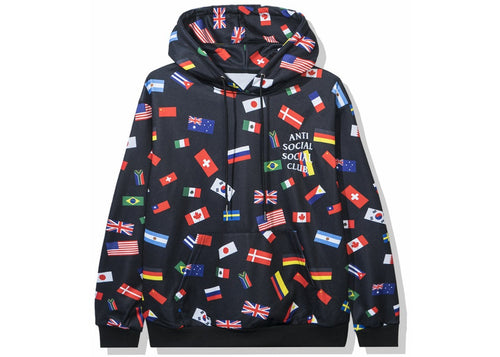 Anti Social Social Club Orlando All Over Flag Hoodie
