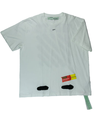 Off-White Incomplete Spay Paint Tee