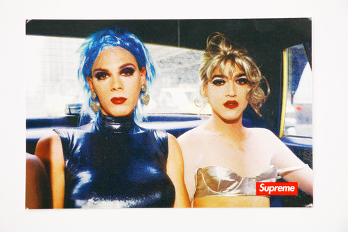 Supreme Nan Goldin Misty and Jimmy Sticker