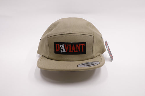 Deviant 5 Panel Chino Logo Hat