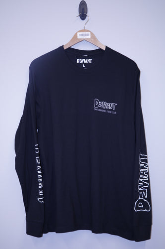 Deviant Skateboarding Fiend Club Long Sleeve Tee