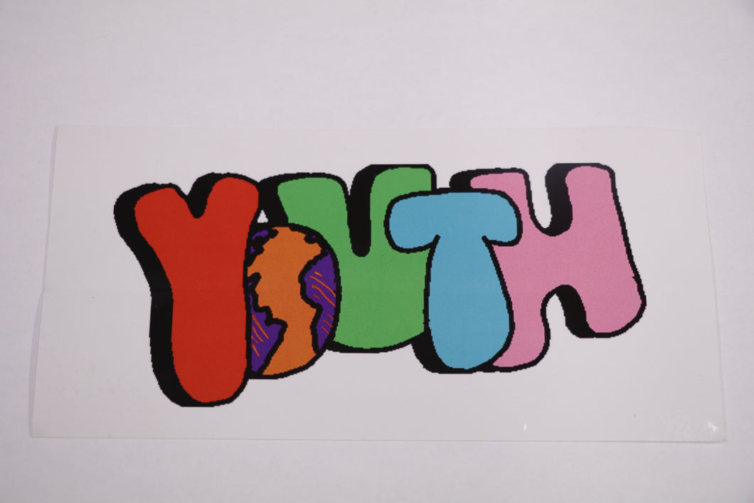 World Wide Youth Sticker