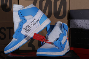 Air Jordan 1 Retro High Off-White UNC