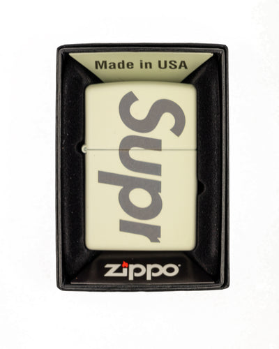 Supreme Glow In The Dark Zippo Lighter
