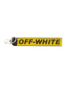 Off-White Industrial Keychain
