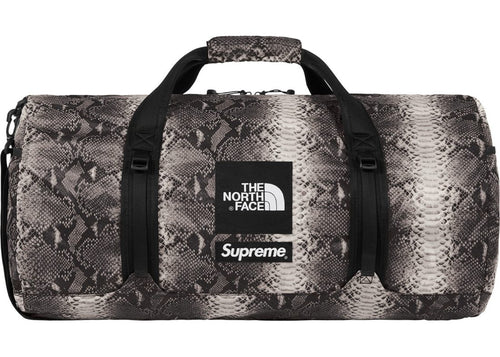 Supreme x TNF Fly Weight Snakeskin Duffle Bag