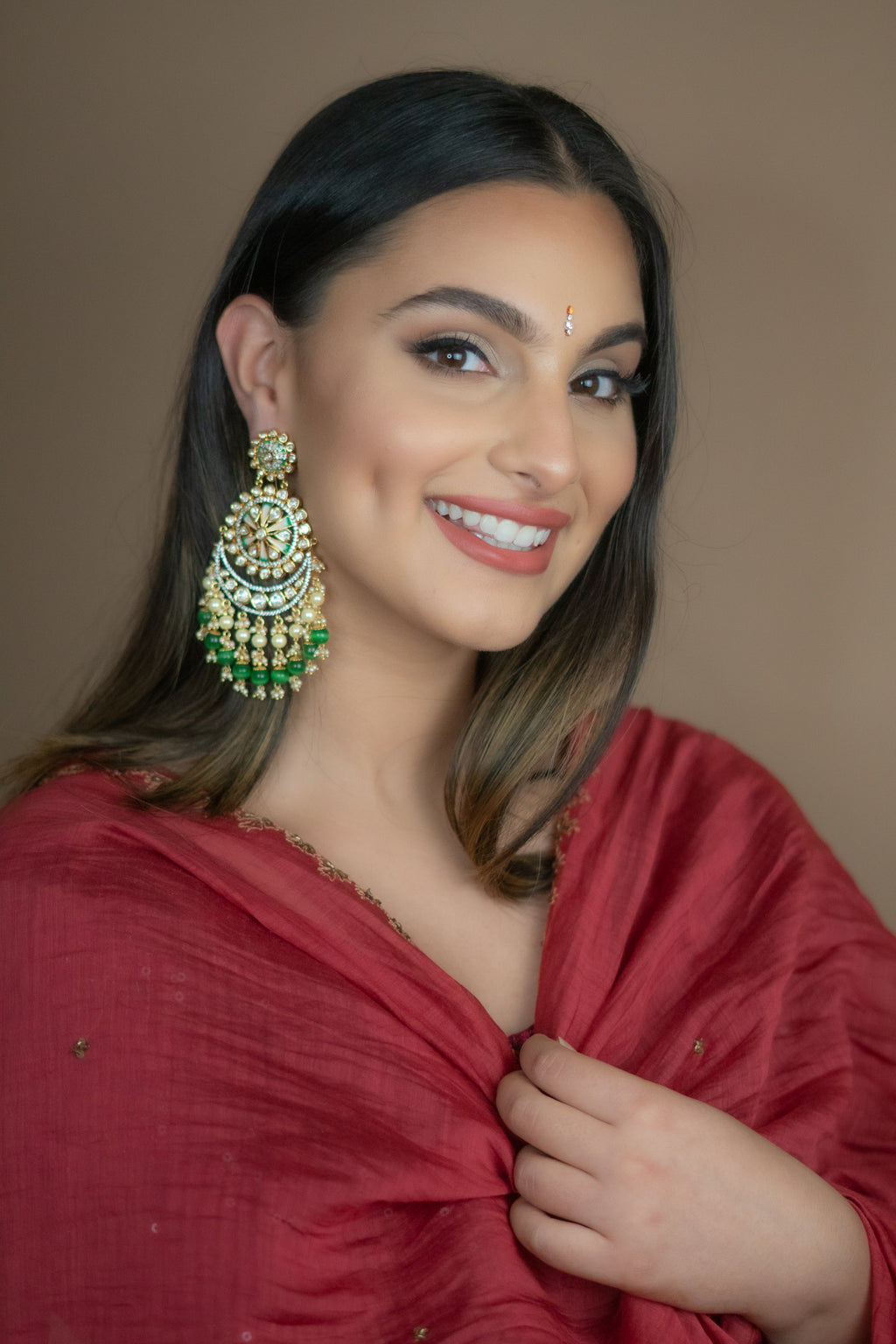 AZAR Kundan Earrings