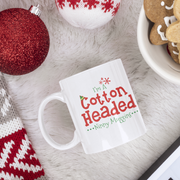 I'm a Cotton Headed Ninny Muggins Christmas Mug from LlamaWrangler.com. This mug features a design inspired by our favorite Christmas movie Elf.