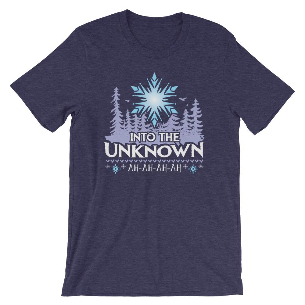 Into the Unknown Tee - Llama Wrangler