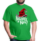 Naughty Or Nice Sorting Hat Tee - bright green