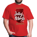 Jelly Of The Month Club Tee - red