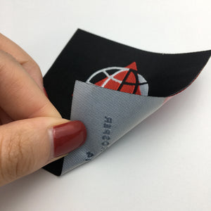 600 Customized nice prices big size woven label