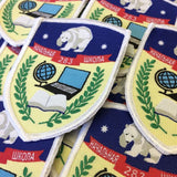 1000 rabbit Woven Badges