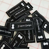 300 HD woven labels, Garment labels woven, Clothing woven tags, Personalized woven label, Garment tags woven