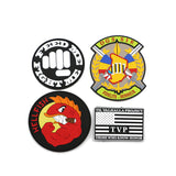 500 Garment Accessories Customized Iron on PVC Silicone Rubber Patch