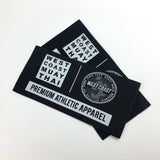 5000 Fashion Damask Custom Garment Woven Labels For Clothing Manufacturer