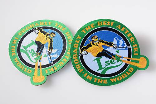 1000 Custom Round Woven Patches
