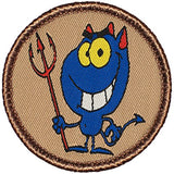 "100 2"" Diameter Round Woven Patch"