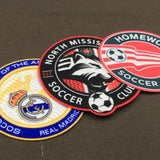 Low Price Heat Transfer 3D Flock Embroidery Patch