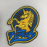 200 Custom Big factory made embroidered label chenille embroidered patches
