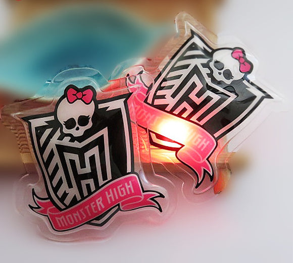 Lovely high quality sew on led lights Kids clothes badges