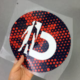 Custom Logo High Density Rubber Silicone Heat Transfer Stickers for Jerseys and T-Shirts