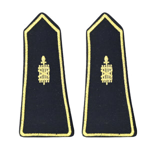 Customized military uniform high quality golden star army epaulette