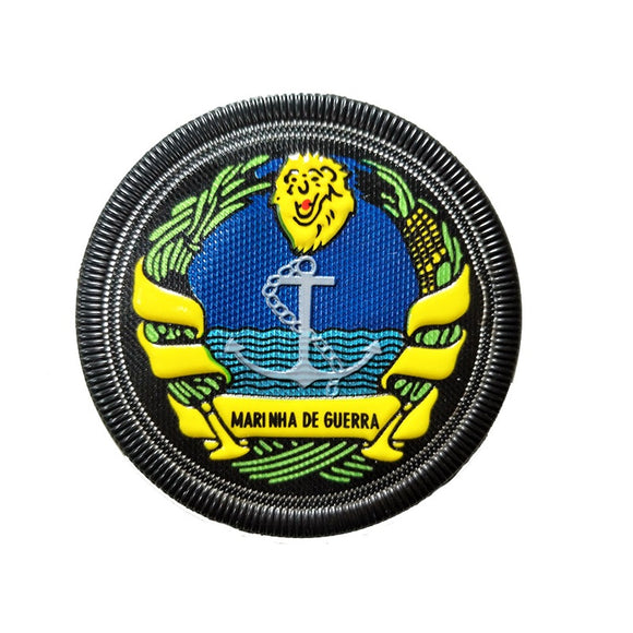 Custom Military Uniform Accessory Polymer Material Badge Patch