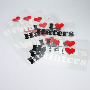 Custom own Brand Name Heat Transfer Press printing labels for Garment