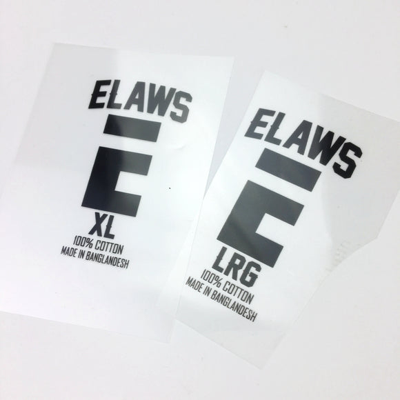 Customized screen printing heat transfer label with your own logo
