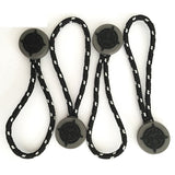 Eco-friendly Zipper Puller Strong Rope Plastic Decorative Zipper Pull
