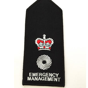 Transport Embroidered Shoulder Epaulettes