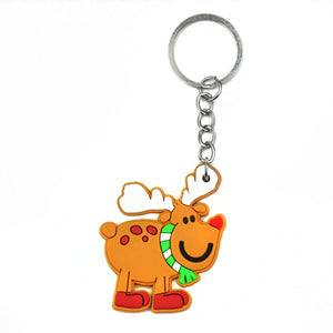 Factory Cheap Promotional Custom Silicone Pvc Rubber Keychain