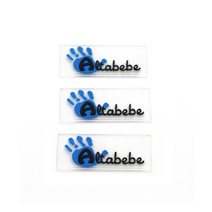 500 High Quality Custom 3D PVC Rubber Patches Logo on Clothing