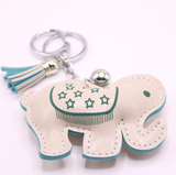 400 pvc leather key chain