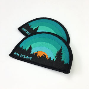 50 Large woven patch of wholesale orders
