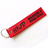 High Quality Custom Woven Keychain With Logo Manufacturer