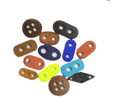 Custom Color Leather Clothing Accessories Cord End Stopper