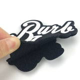 Rubber tags labels badge pvc clothing brand badges