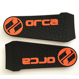 $0.05-$0.25 Pvc Sleeve Tab with Plastic Injected Hook/Molded Hook Sportswear Cuff Tap with Coloful PVC Logo