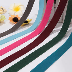 Wholesale wide colorful elastic band/decorative bra straps webbing