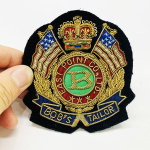 Bullion Cap Badge