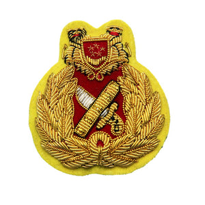 cheap custom bullion cap badge for military