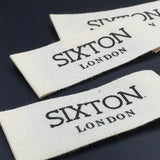 200 clothing labels, printed cotton labels, custom labels, cotton labels, Printed cotton label, Cotton printed labels