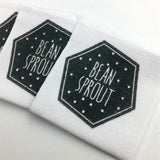 250 custom cotton labels