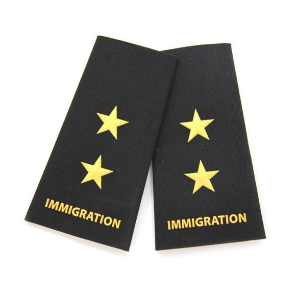 Immigration Shoulder Badge