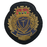 Soft Metal PVC Shoulder Badge for MQS Government Clothing