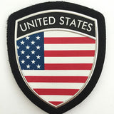 Military Uniform Shoulder Patch Silicone PVC Arm Badge