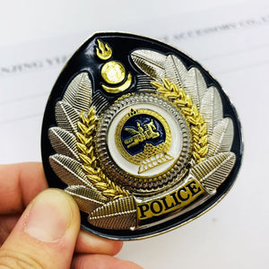 Police Metal Cap Badge
