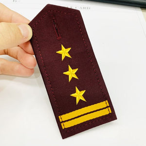 Printed Rank Epaulettes